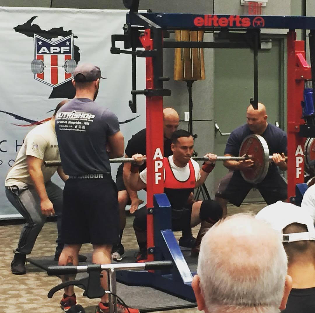 Power-lifting competition in Grand Rapids, Michigan - (October)